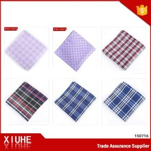 New design branded fancy wholesale handkerchief