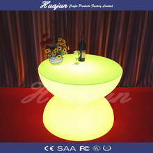 2015 led bar chair/ modern outdoor furniture plastic led sofa/led party chair and tables