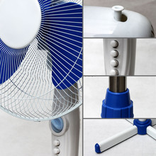 """50W 16"""" inch round base stand up fans"""
