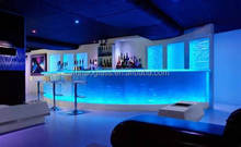 1 inch glass bar countertops for sale, glass countertop with led light, prefabricated bar top