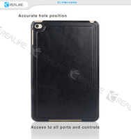 7.9 inch tablet case for apple tablet new products, for ipad mini 4 wallet style stand leather tablet case