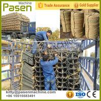 Straw rope spinning machine | high quality twisted rope making machine | straw rope make machine