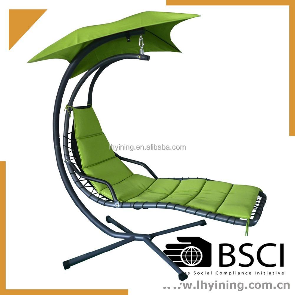 Amazon.com : Tufted Single-Person Swinging Hammock Chair : Patio, Lawn ...
