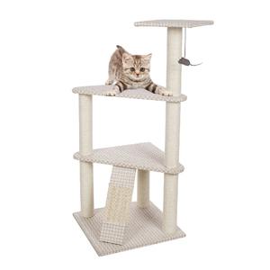 Yüksek Mukavemetli Fabrika Kaynağı hayvan evi üst kedi ağacı