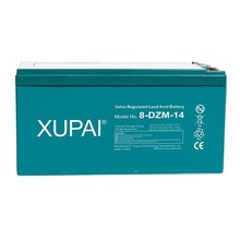 XUPAI DZM Series VRLA AGM Type E-bike Battery 16V 14Ah 2hr Rate