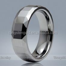Fashion Jewelry Tungsten Carbide Emerald Rings