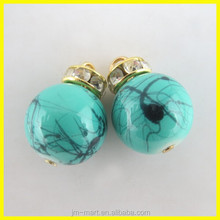 Beautiful Blue Color Round Charms Party Decoration, Fancy Pendant Christmas Tree Dressing