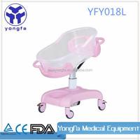 YFY018L baby bed crib plastic