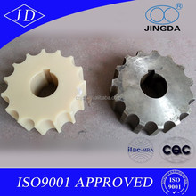 Flat Top Chain Sprockets Materials Carbon PA and Steel