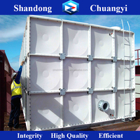 High Quality Chuangyi Fiber Water Tank for Irrigation water/Friefighting water/Drinking Water Treatment