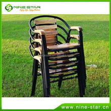 Factory Main Products! Top Quality multicolor metal dining chair from China workshop