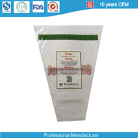 V Shape Clearly Flower Packing Bag