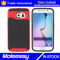 Paypal accepted hard pc soft tpu case for samsung galaxy S6 cover