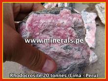 Rhodocrosite Peruvian Minerals