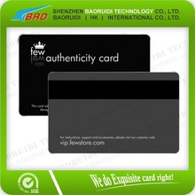 RFID Magstripe Plastic Cards for Club/Hotel/Holiday Gift