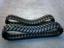 rubber tracks and rubber track pad for paver,combine harvester, excavator, truck,snow blower