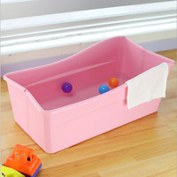 Colorful and safe portable bathtub for children