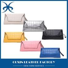 2015 newest design wholesale Crocodile clutch purses clutch evening bags genuine women wallet handbags ladies 2015