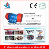 Vibra motor in vibrating machine