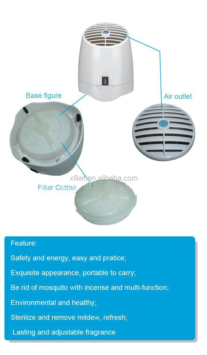 Water Air Purifier With Fragrance : Rainbow water air purifier with perfume aroma oxygen bar