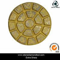 3'' DMY-25 Round Resin Bond Hybrid Pad Floor Polishing Pads Diamond Concrete Tools for Marble/Granite/Concrete