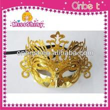 fancy half face shinestone halloween party masquerade mask