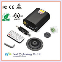 Mini LED Laser Stage Lighting Projector Auto Red Green+Remote Controller Party DJ