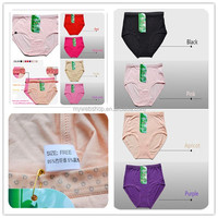 2014 hotsale bamboo fiber,spandex underwear panty,good quality in competive price