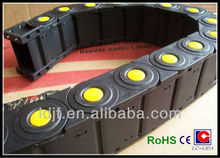 LX80 enclosed type plastic cable carrier sold by meter