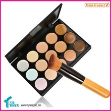House Hold Products Makeup Set Table Top Acrylic 15 Slots Cosmetic Eyeshadow Holder