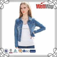 2015 ladies jeans shirts/womens blue work shirts/t-shirt cheap shirts