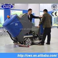 Best Selling Warehouse Used Multifunctional Automatic Electric Floor Scrubber