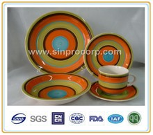 french dinner set porcelain with hot-selling handpainted