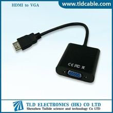 HDMI to VGA Adapter Cable Converter For PC DVD HDTV