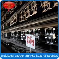 Q235 Standard Steel Products Track Light Rail