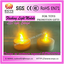 Festival flashing led light toy,Different colors light up led flash candle