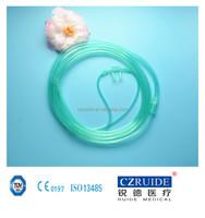 pvc child nasal oxygen cannula