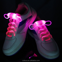 The Second Generation Flashing Led Shoelaces Multicolor,Available in 6 color,LED Light Up Shoelaces Shoestring