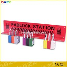 safety combination lock station mobile base station the newest lock station of 4 locks