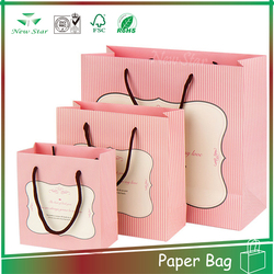 beautiful design craft paper shopping bags
