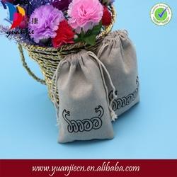 Popular professional handmade linen gift bags