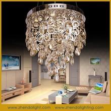 ZhongShan modern crystal ceiling light decoration/pendant chandelier lamp