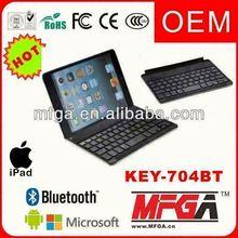 aluminum keyboard case for ipad 2