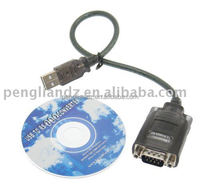 High Quality FTDI PL2303 USB to RS232 DB9 Serial Cable with Driver