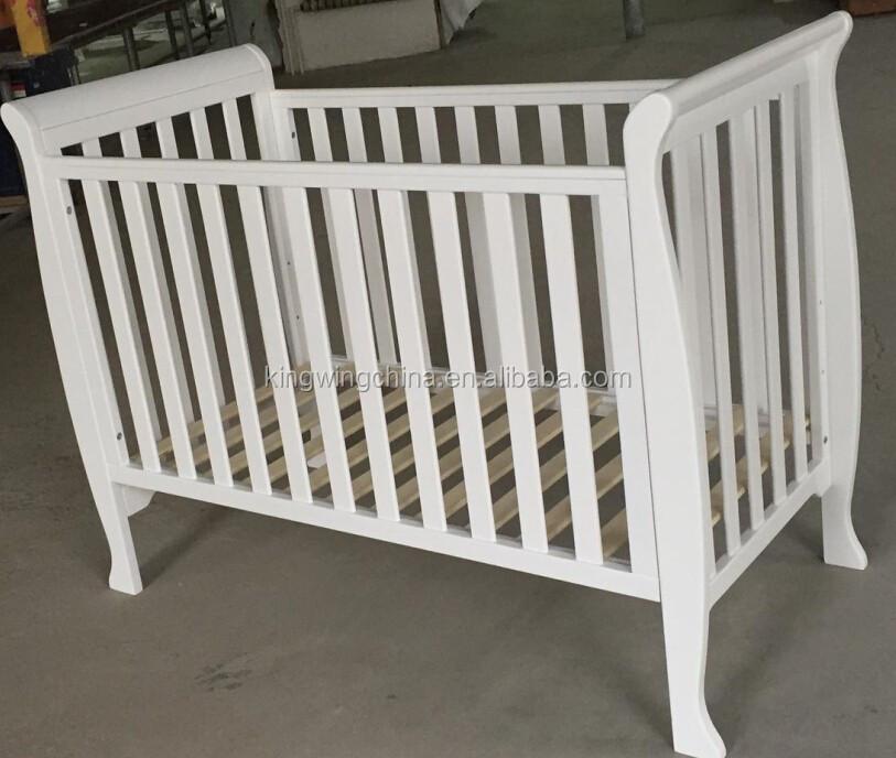120x60 madera beb trineo cuna cunas para bebes - Instrucciones montaje cuna ...