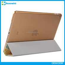 2015 new products leather tablet stand case for iPad Air 2