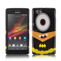 Cute Design Water Stick Tpu Case For Sony Xperia M C1905