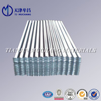 galvanized corrugated steel roofing sheet roof tile