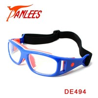 OEM hot sales Panlees WHOLESALE handball Outdo sports eyewear anti-impact football with nose pad Unisex in small orders china