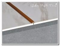 Stainless steel tile border